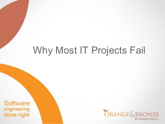 Why Most IT Projects Fail