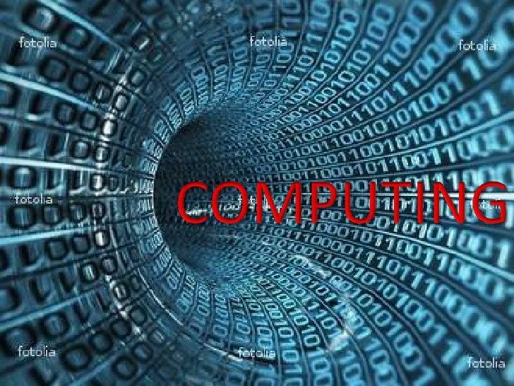 COMPUTING<br />