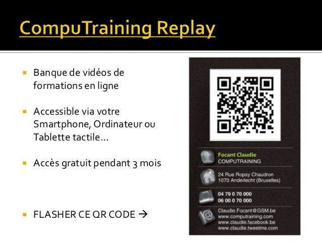 Computraining for Chambre de commerce de levis