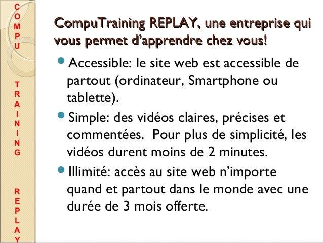 Compu training replay Slide 3