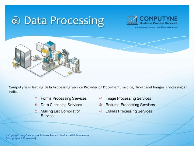 Computyne Data Entry, Data Processing, Web Research Services