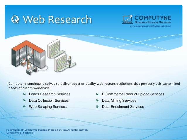 web research computyne continually - Web Researcher