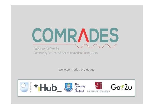 www.comrades-‐project.eu