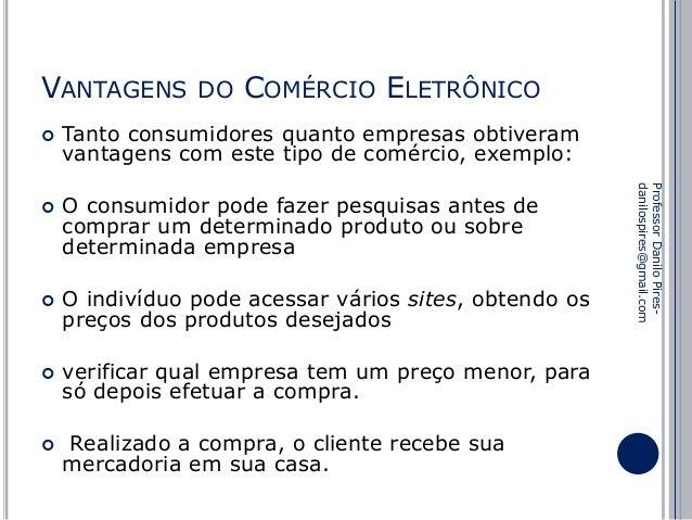8014e75c1f3db2 Comércio eletrônico Vantagens e Desvantagens