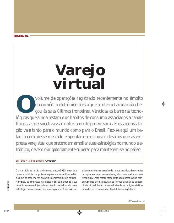 ERA DIGITAL: VAREJO VIRTUAL                 ERA DIGITAL                                                     Varejo        ...
