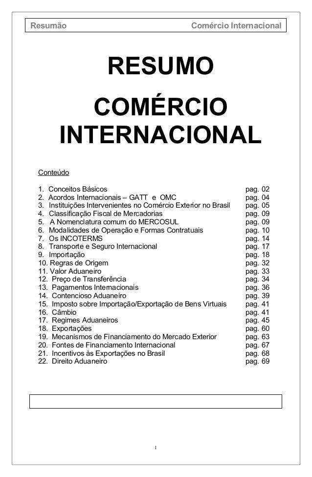 Com rcio internacional for Comercio exterior