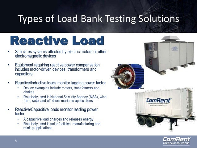 Resistive vs reactive reasons to choose reactive load for Electric motor load testing equipment