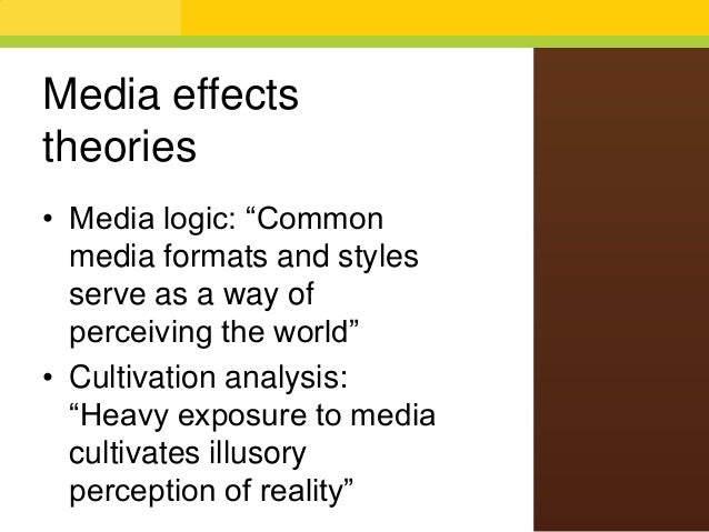 an analysis of the media and the effects on society 2015-11-30  effects of mass media on society: how media convergence changed our world published on november 30, 2015 karlo  however, few will argue the tremendous effect that instant mass media has had on american culture.