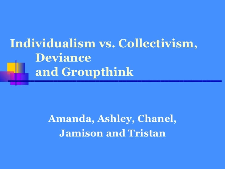 essay individuality vs conformity Download thesis statement on conformity vs individuality in our database or order an original thesis paper that will be written by one of our staff writers and delivered according to.