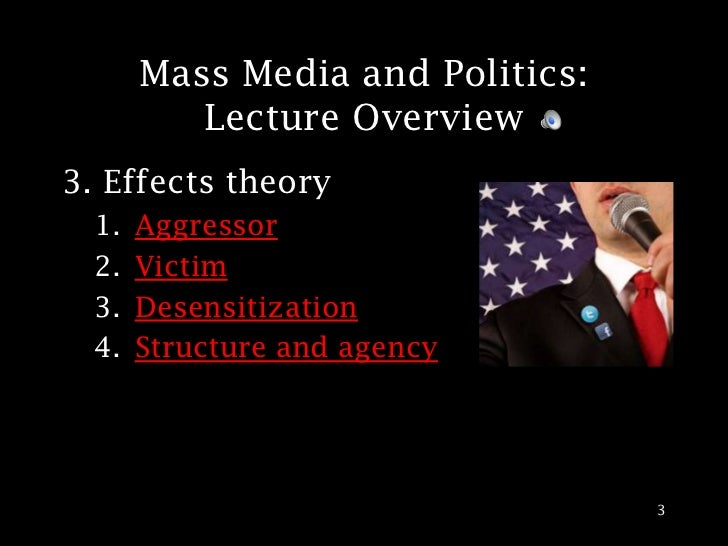mass media politics The supposed and the real role of mass media in modern democracy the media are supplying the political information that voters base their decisions on.