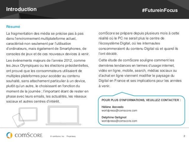 Introduction                                                                             #FutureinFocusRésuméLa fragmentat...