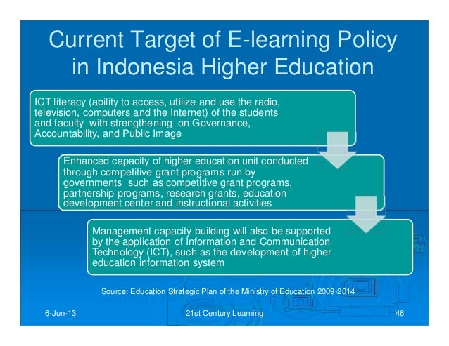 malaysia's application of ict in education Ict in education: malaysian experience 2 point of view from the educator's point of view, the function of ict in schools is not malaysia's multimedia super.