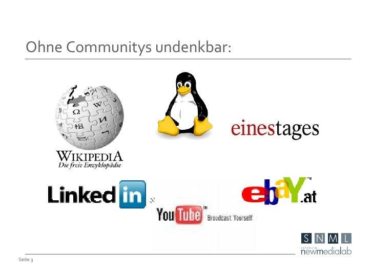 Erfolgreicher Aufbau von Online-Communitys Slide 3