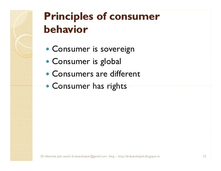 consumer behaviour and marketing communication pdf
