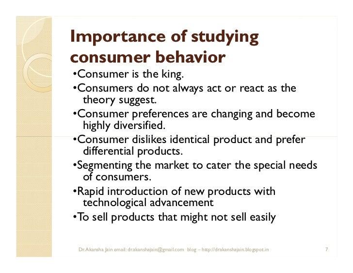importance of consumer behaviour View essay - importance of consumer behaviour from mkt 320 at strayer university atlanta campus importance of consumer behaviour importance of consumer behaviour introduction understanding consumer.