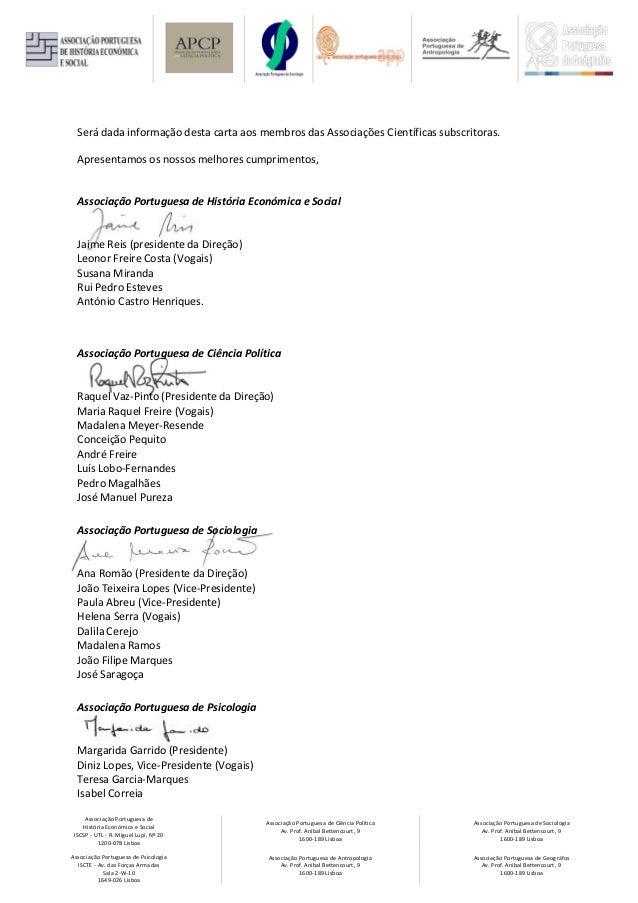 Associação Portuguesa de História Económica e Social ISCSP - UTL - R. Miguel Lupi, Nº 20 1200-078 Lisboa Associação Portug...