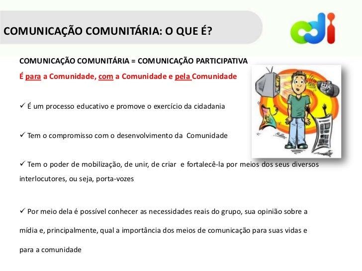 Comunicacao comunitaria mod1 Slide 2