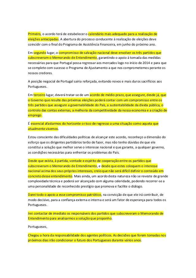 Primeiro, o acordo terá de estabelecer o calendário mais adequado para a realização de eleições antecipadas. A abertura do...