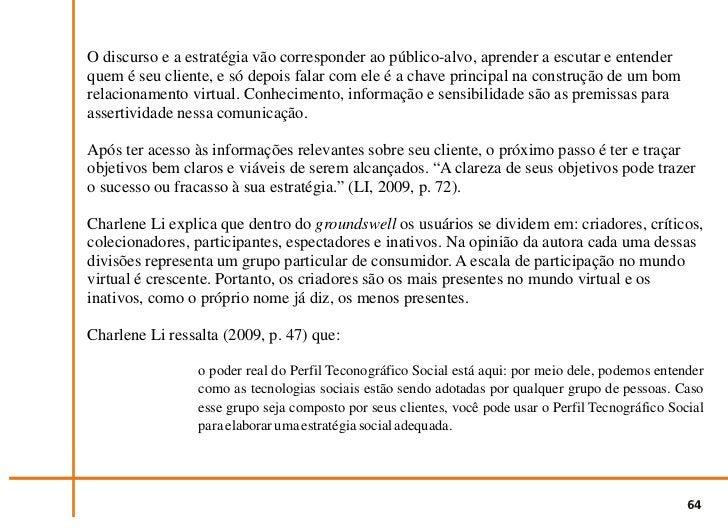 Fig. 2 - A Escada Tecnográfica Social.         Fonte: LI, 2009, p.45                                         65
