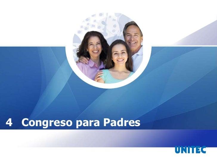 JULIO 4 Congreso para Padres