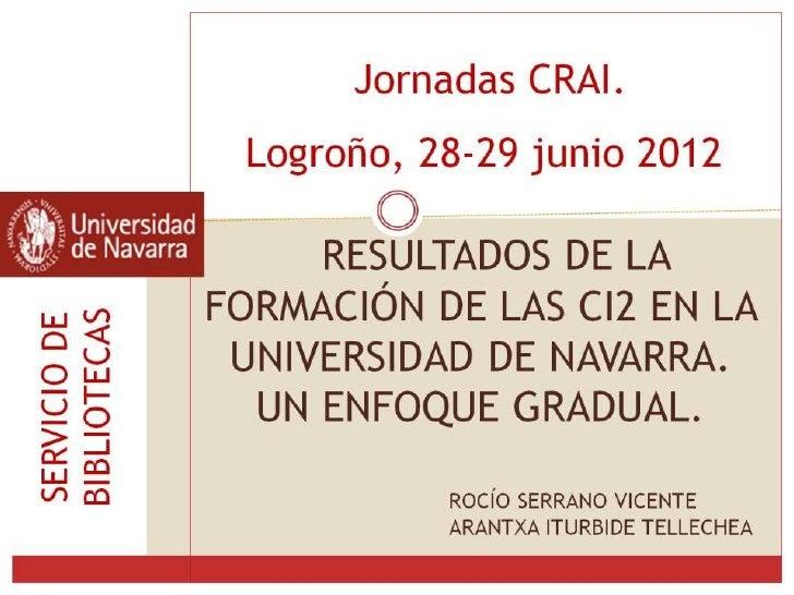 Competencias Informacionales. CRAI_Logroño_(2012)