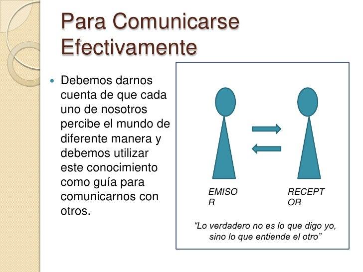 COMUNICACION EFECTIVA DEFINICION DOWNLOAD