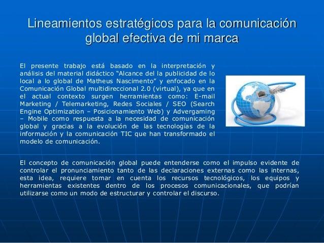 Comunicación global actividad 2 andres utrera Slide 2