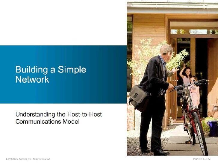 Comunicación host to host   osi