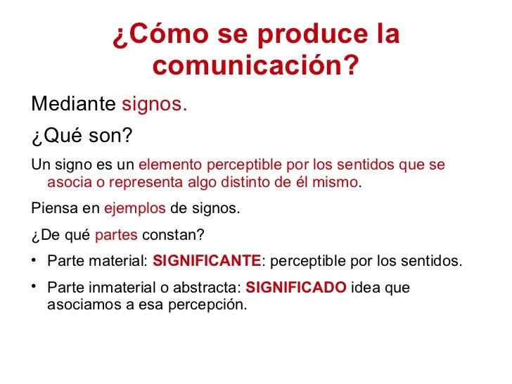 La comunicación y sus elementos Slide 2