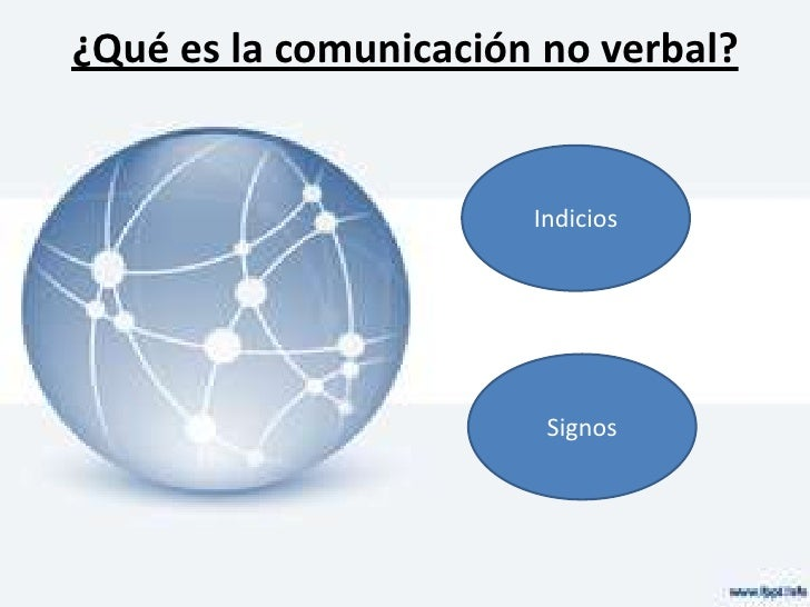 Comunicación no verbal Slide 2