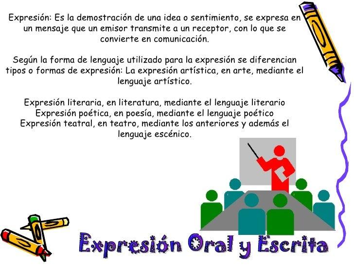Comunicación oral y escrita Slide 2