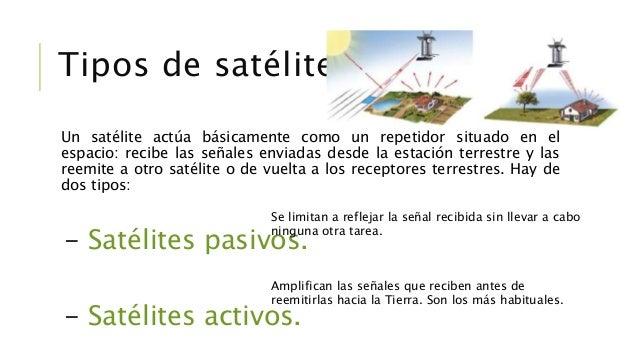 -Satélites LEO (Low Earth Orbit, que significa órbitas bajas). Orbitan la Tierra a una distancia de 160-2000 km y su veloc...