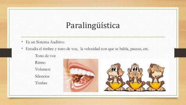 Resultado de imagen de comunicacion paralinguistica