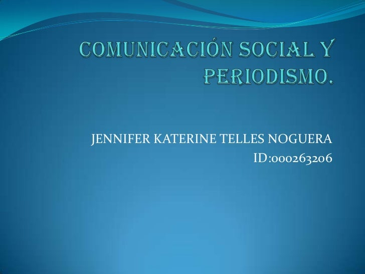 JENNIFER KATERINE TELLES NOGUERA                      ID:000263206