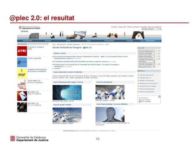 10 @plec 2.0: el resultat