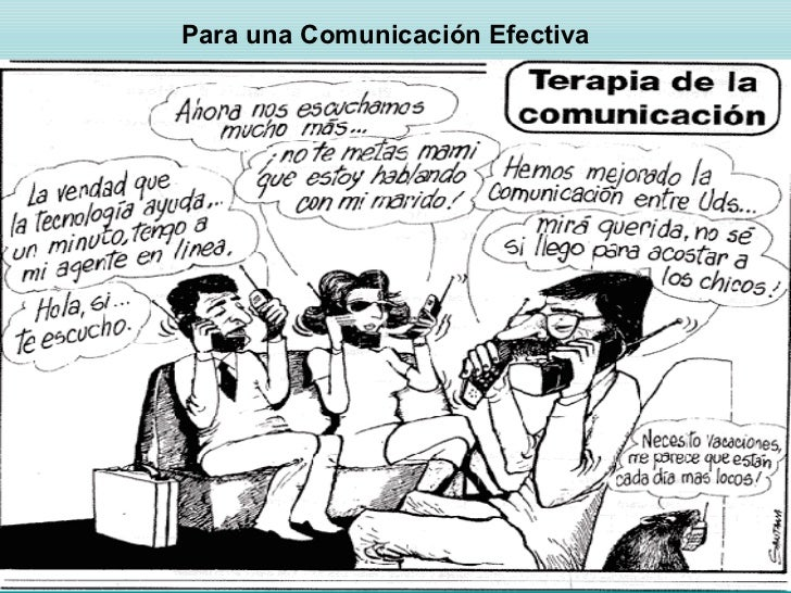 Para una Comunicación Efectiva