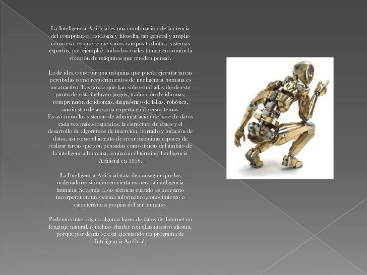 APLICACIONES    DE LAINTELIGENCIA  ARTIFICIAL