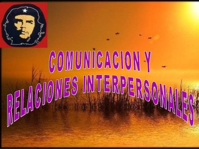 RREELLAACCIIOONNEESS  IINNTTEERRPPEERRSSOONNAALLEESS  FFEENNOOMMEENNOO EESSPPEECCIIFFIICCOO  CCOONNDDIICCIIOONNAADDOO PPOO...