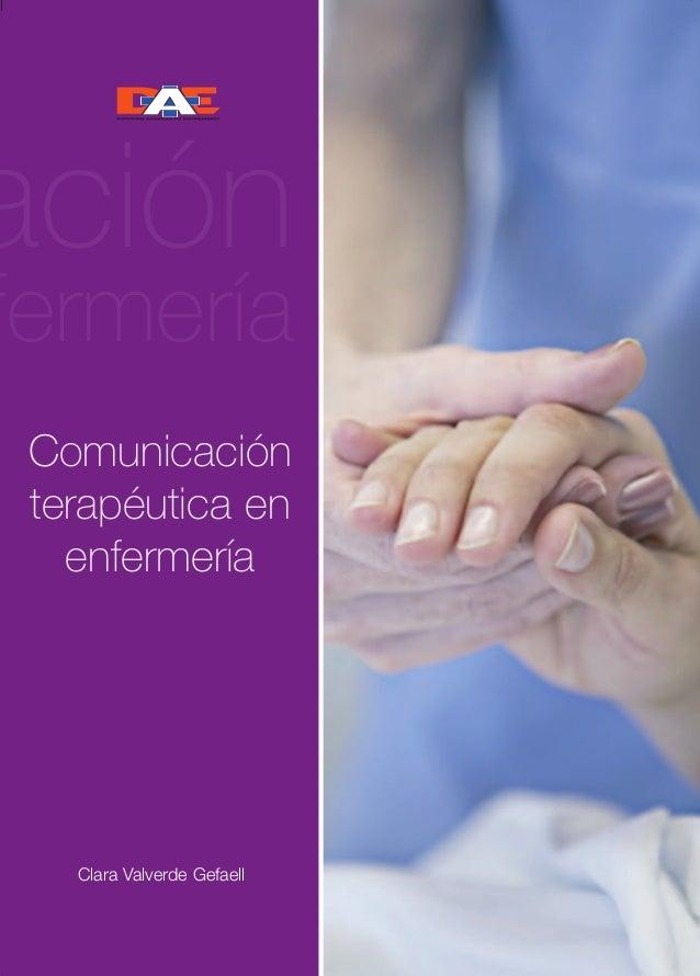 Cubierta comunicacion def  22/5/07  16:56  Página 1  PURPLE  P-2665  comunicación terapéutica en enfermería  PURPLE  Comun...