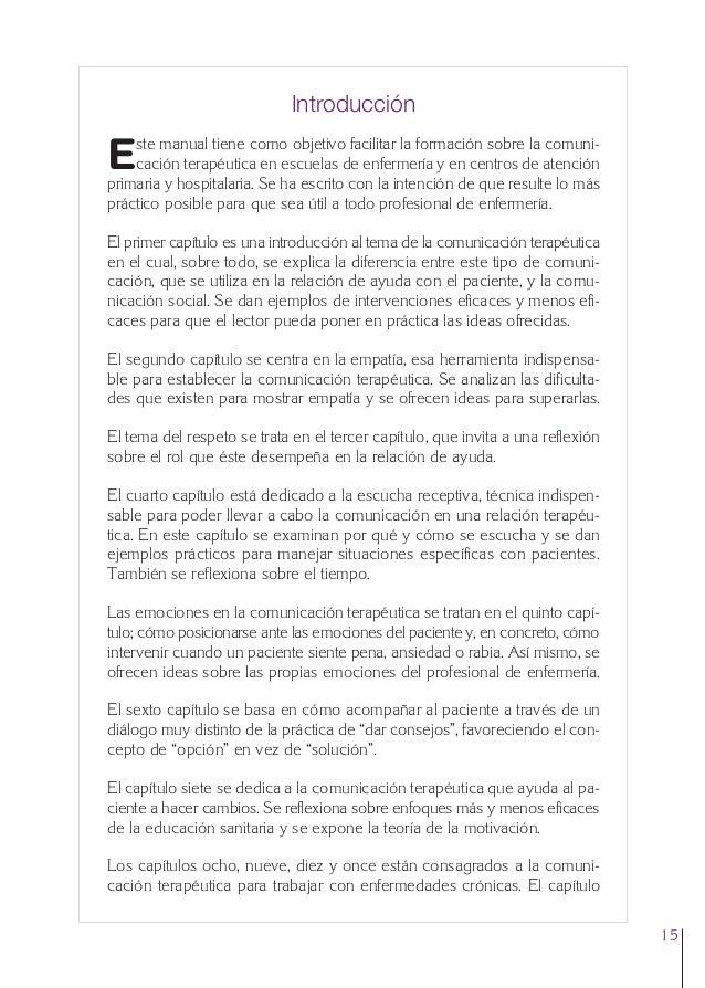 0. Primeras  24/5/07  11:56  Página 15  Introducción ste manual tiene como objetivo facilitar la formación sobre la comuni...