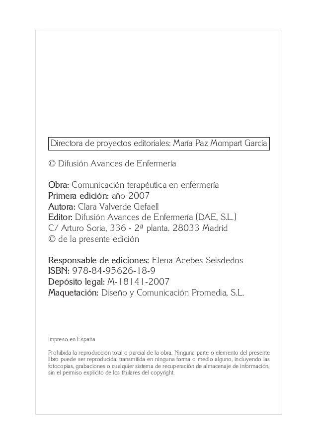0. Primeras  24/5/07  11:56  Página 4  Directora de proyectos editoriales: María Paz Mompart García © Difusión Avances de ...