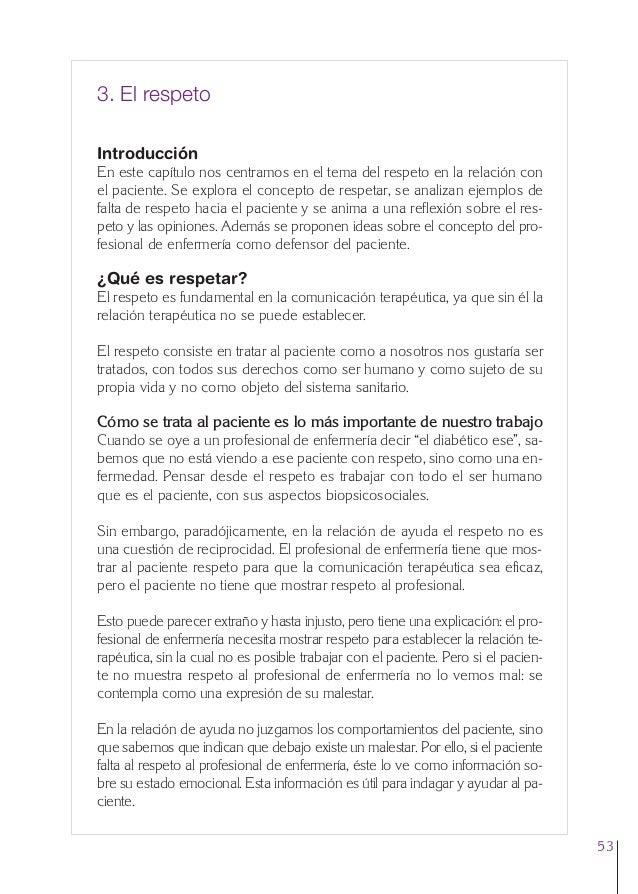 3. Cap. 3 El respeto  24/5/07  12:11  Página 53  3. El respeto Introducción En este capítulo nos centramos en el tema del ...