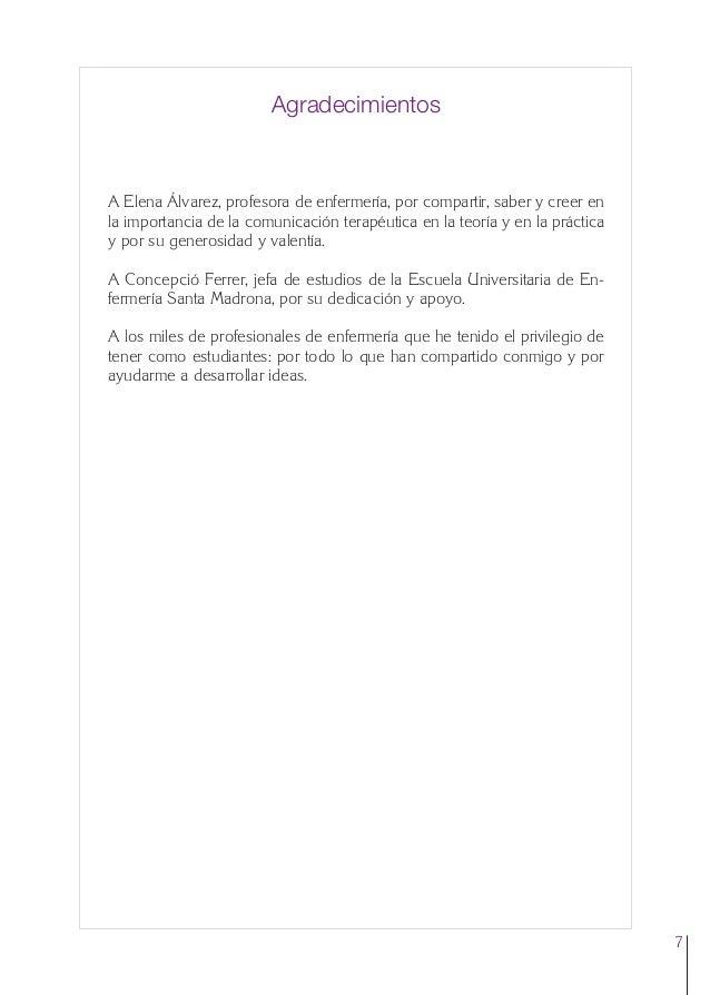 0. Primeras  24/5/07  11:56  Página 7  Agradecimientos  A Elena Álvarez, profesora de enfermería, por compartir, saber y c...
