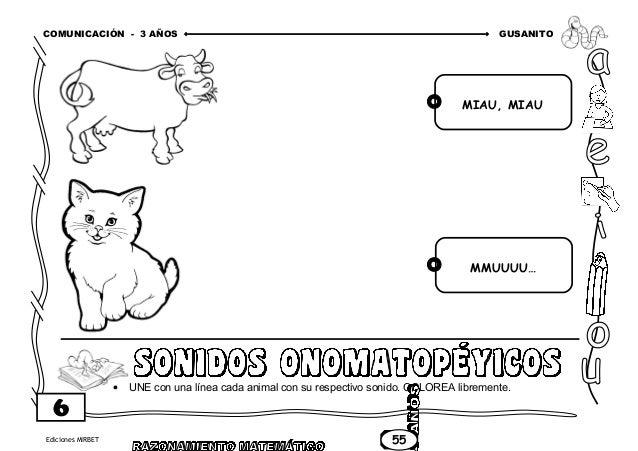CUADERNO DE TRABAJO COMUNICACIÓN PARTE 1 - 3 AÑOS
