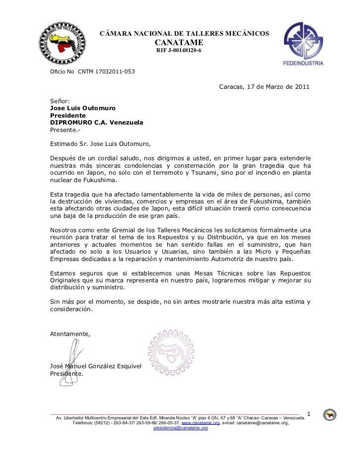 CÁMARA NACIONAL DE TALLERES MECÁNICOS                                                   CANATAME                          ...