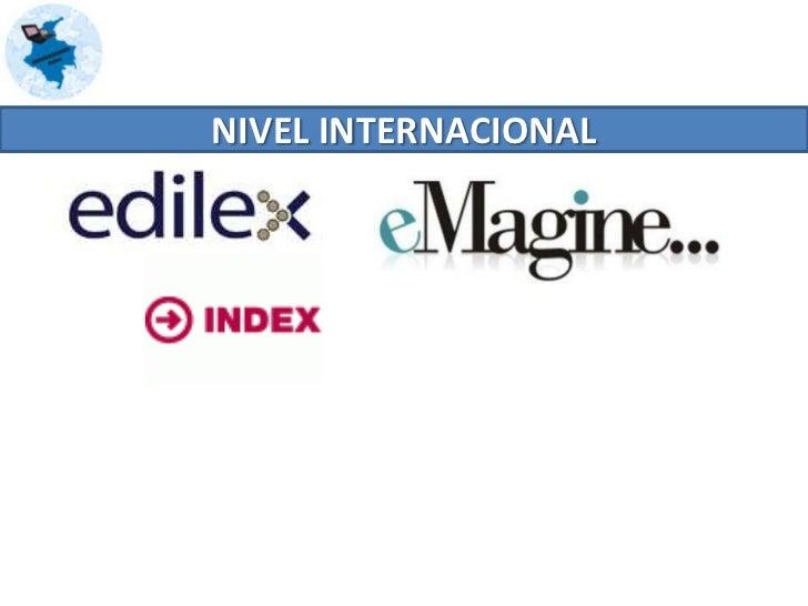 NIVEL NACIONAL <br />En Colombia, encontramos a Eco Comunicaciones, una compañía colombiana con presencia y acción en Amér...