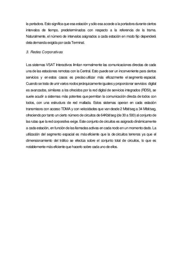 Comunicaciones por satélite (trabajo exposición)