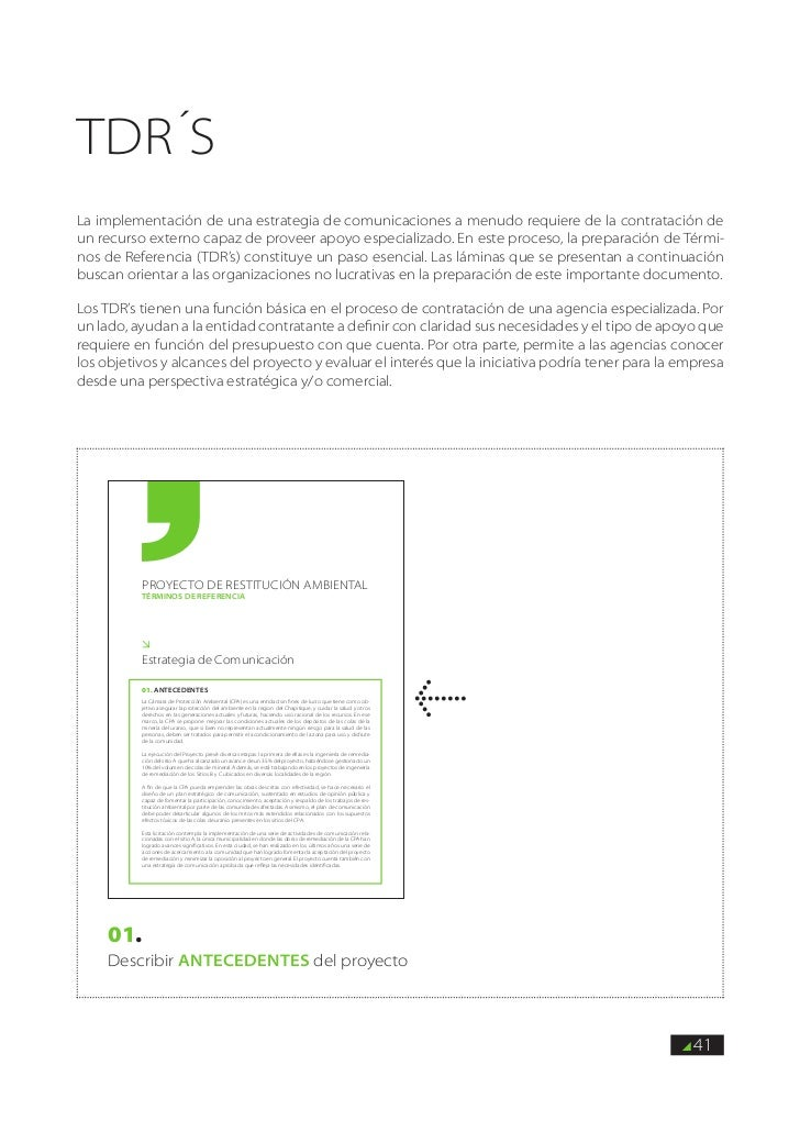 tdr´sLa implementación de una estrategia de comunicaciones a menudo requiere de la contratación deun recurso externo capaz...