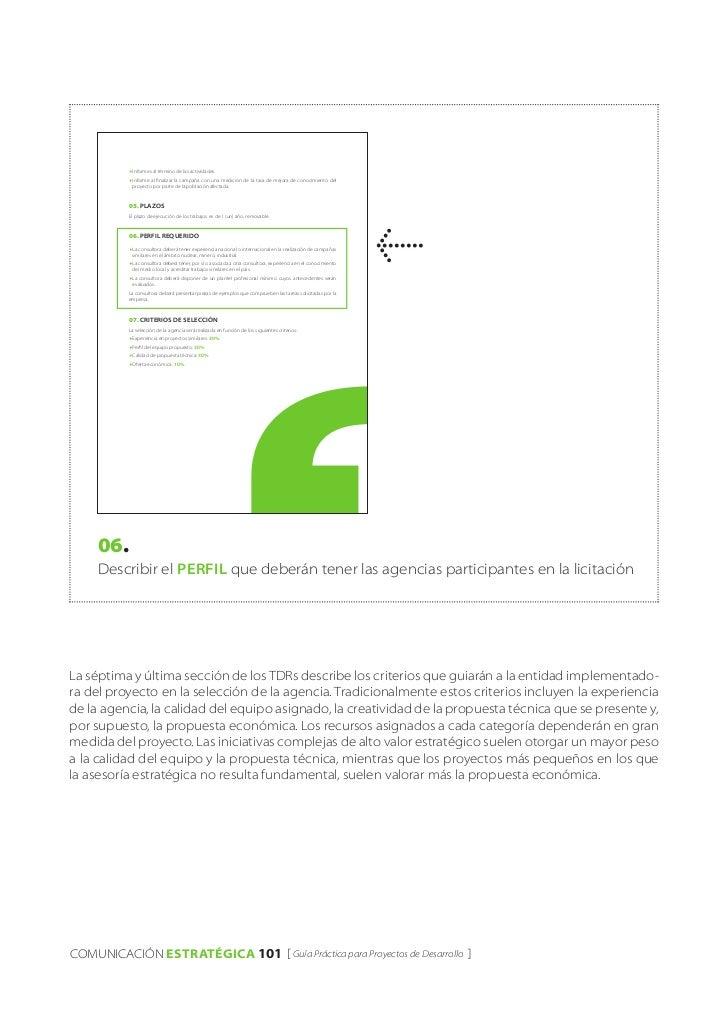 f informes    al término de las actividades.           f informe al finalizar la campaña con una medición de la tasa de me...