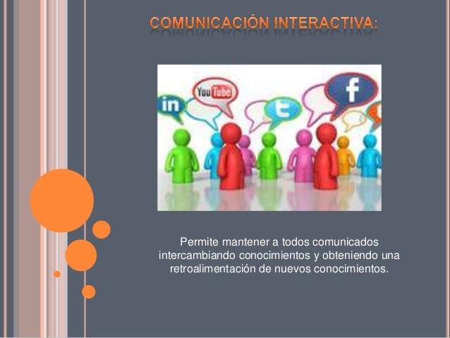 Comunicacion interactiva Slide 3